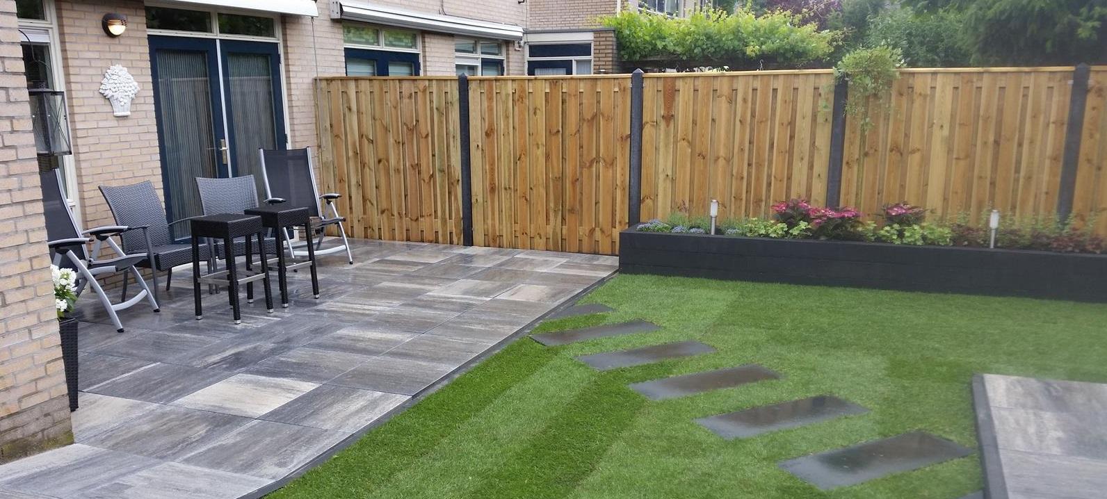 Groen karwei - Hoe aangelegde tuin ...
